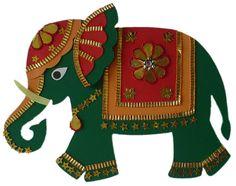Day 5 - Dasara Elephant Crafts - Artsy Craftsy Mom