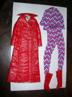 "Vintage Barbie Francie "" Long On Leather "" #1769 (1970-1971)"
