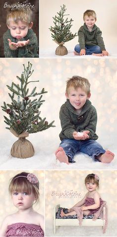 Christmas Toddler Photography