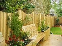 landscape ideas for back yard fence - Yahoo Image Search Results
