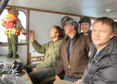 @OttoKilcher and boyz out for a boat ride on the newly revamped Nanuk.