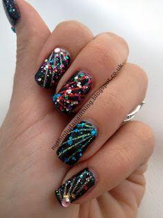 firework nails