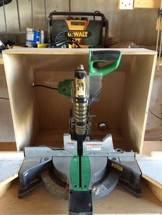 Miter Saw dust collector box