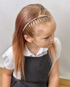 haar kinderen meisjes 40 Glamorous Girly Hairstyles Ideas That Suitable For You in 2020 Quince Hairstyles, Baby Girl Hairstyles, Twist Hairstyles, Hairstyles For School, Little Girl Short Hairstyles, Girl Hair Dos, African Braids Hairstyles, Toddler Hair, Short Hair Styles