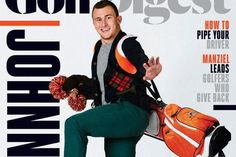 Cleveland Browns quarterback  Johnny        Manziel         isn't seeing much action on the field this season, but he is still finding himself on magazine covers...