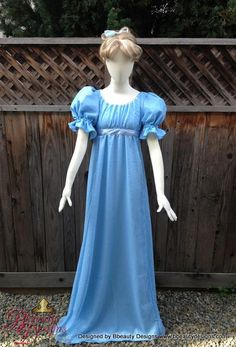 ddf05d1716 Wendy Darling Peter Pan Couture Costume Nightgown by