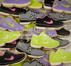Sweet Handmade Cookies: Running Shoe Cookies