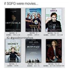 I would totally watch Money, Catch Fire, and Permanent Vacation. I'd watch all of them, but definitely those three.
