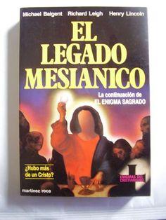 El Legado Mesianico Enigmas del Cristianismo  El Legado Mesianico Enigmas del Cristianismo  Micha ..  http://santiago-city-2.evisos.cl/servicio-de-enlozados-para-empresas-y-particulares-id-592451