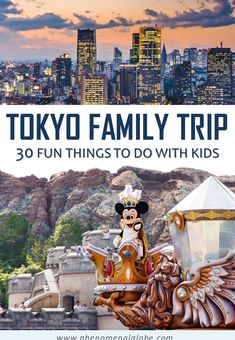 Looking for the best things to do in Tokyo with kids on a Tokyo family trip? Check out 30 Tokyo kids attractions to put on your Tokyo family itinerary! Tokyo Japan Travel, Japan Travel Tips, Tokyo Trip, Tokyo Vacation, Japan Trip, Kyoto Japan, Okinawa Japan, Asia Travel, Visit Tokyo