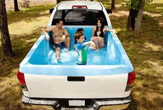 Pickup Pools – A Truck Bed Swimming Pool - $215