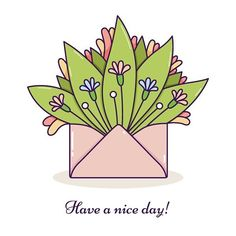 #drawing #illustration #illustrator #art #artwork #digitalart #instaart #inspiration #haveaniceday #vector #cleanandsimple #flowers #envelope #spring #beautiful #cute #colorful #card #рисунок #ярисую #творчество #цветы #открытка #конверт #хорошегодня #весна