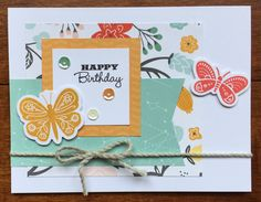Dreamin' Big card for March card class. #ctmhdreaminbig