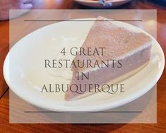 4 Great Restaurants To Try In Albuquerque, NM#Albuquerque #Great #Restaurants Albuquerque Restaurants, Mexican Chili, Cheese Enchiladas, Corn Fritters, Fried Pickles, Beef Patty, Fruit Pie, Red Chili, Breakfast Burritos