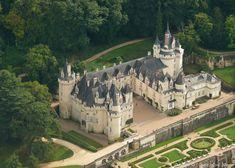 Photo aérienne de Rigny-Ussé - Indre-et-Loire (37)