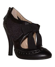 Look at this MOJO MOXY Black Hokus Pump on #zulily today!