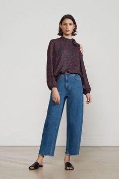 b6ba1455091 Картинки по запросу женские широкие брюки укороченные джинса Denim Fashion