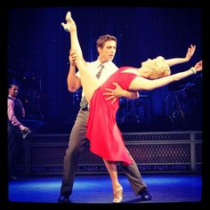 .@codylgreen and Laurie Kanyok Come Fly Away , beautiful partnering