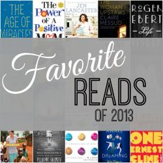 15+ books from 2013 you should read now. Plus a #Kindle giveaway. I'll have to check these out