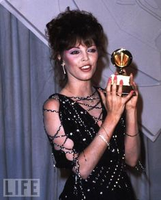 Pat Benatar picked up Grammy for Best Rock Vocal Performance, Female for her 'Fire and Ice' on Feb Pat Benatar, Top 10 Hits, Women Of Rock, Love Is, Red Carpet Looks, Pop Rocks, American Singers, Rock Music, Music Artists