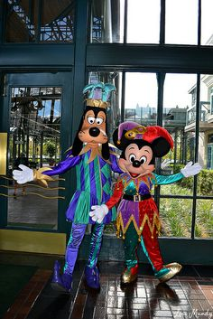 Goofy and Mickey