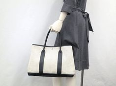 Hermes Garden Party Tote in Grey
