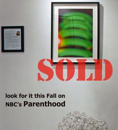 """SOLD! Look for """"PDC Green"""" this Fall on NBC's PARENTHOOD Photo Art, Lights, Fall, Green, Autumn, Fall Season, Lighting, Rope Lighting, Candles"""