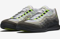 dba6193920f9 Release Date  NikeCourt Vapor RF x Air Max 95 Neon The NikeCourt Vapor RF x