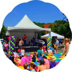 #imaginationbethesda festival #new2dc www.new2dc.tumblr.com Street Fair, Cool Places To Visit, Maryland, Building, Outdoor Decor, Fun, Travel, Viajes, Buildings