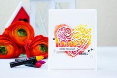 Simon Says Stamp | DieCember! Sending You Hugs & Kisses. Video | Yana Smakula. My Cardmaking & Scrapbooking