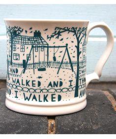I Walked Mug
