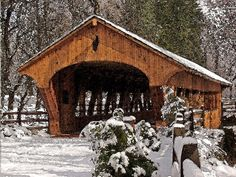 Covered Bridge at Olmsted Falls