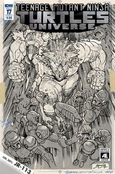 TMNT UNIVERSE #17 CVR B ARTIST ED MILONOGIANNIS
