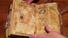 Practical Magic book of shadows pages - Google Search.... Im sooo in love with this!!!