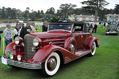 1931 or 1932 Cadillac Fleetwood V-16 Convertible Coupe