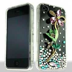 Hi, does anyone need new look for iPhone 4/4S? I suggest this 3D Purple Daisy With Full Rhinestones hard case because it's lovely case!