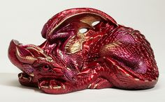 Ruby - Regular Production, retired - Windstone Editions 'Small 'Mother Dragon' sculpt