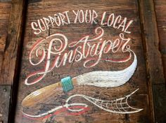 Support your local pinstriper