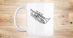 The simple sketch of the noble Cornet by artist Roger E. Anderson now on a mug and in a number of colors.  No cutesy statements or slogans, just the cornet itself.  Perfect for the enthusiast of that instrument who doesn't need to say anything.Enjoy!