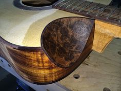 AHS Band Boosters Guitar Raffle: Making a scoop cutaway