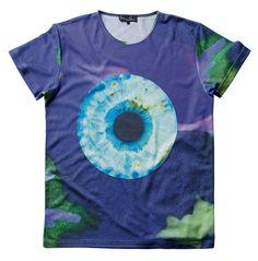 Camoflage Iris T-shirt - Marc Quinn