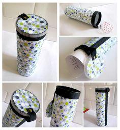 Tubo portadocumenti - idea riciclo by Multiductus, via Flickr