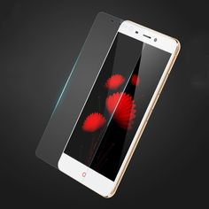 """9H 0.26MM High Quality Anti-shatter Tempered glass film protective For ZTE Nubia N1 5.5"""" glass screen protector"""