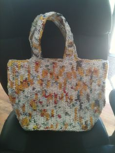 Recycled plastic grocery bags Plastic Grocery Bags, Crochet Projects, Straw Bag, Recycling, Upcycle
