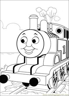 Free Coloring Pages Thomas And Friends