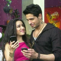 Sidharth malhotra and shraddha kapoor during ek villain shoot