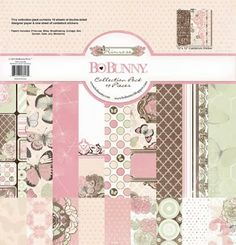 Final Day of Product Previews: Primrose. Love the soft colors of this collection! Have you seen the new Ephemera packs and Washi tape that matches this collection?? #BoBunny
