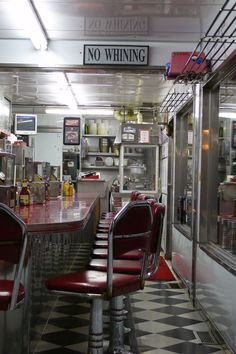 """Cindy's Diner"" 1950's #diner print. Limited editions available. © monkeyshineportaits email for info askmonkeyshineportraits@gmail.com"