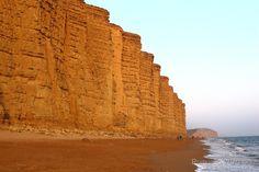Jurassic Cliffs At West Bay, Dorset