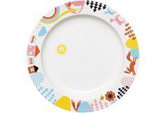 Arabia Lysti -lautanen 24 cm, kettu Plates, Tableware, Kitchen, Kids, Licence Plates, Young Children, Dishes, Dinnerware, Cooking